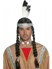 Wild West Indian Braided Wig